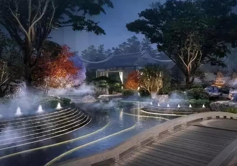 上海民宿设计公司总结之中式庭院照明要点