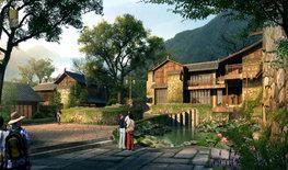 石頭村度假酒店設計|重塑古代文人生活圖景