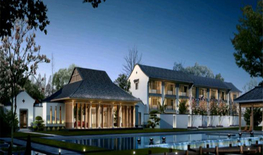 杭州西湖雅庄建筑规划设计|一半山水一半城