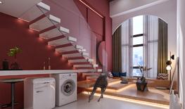 城市公寓民宿设计 | 以家的标准打造惬意舒适的小民宿