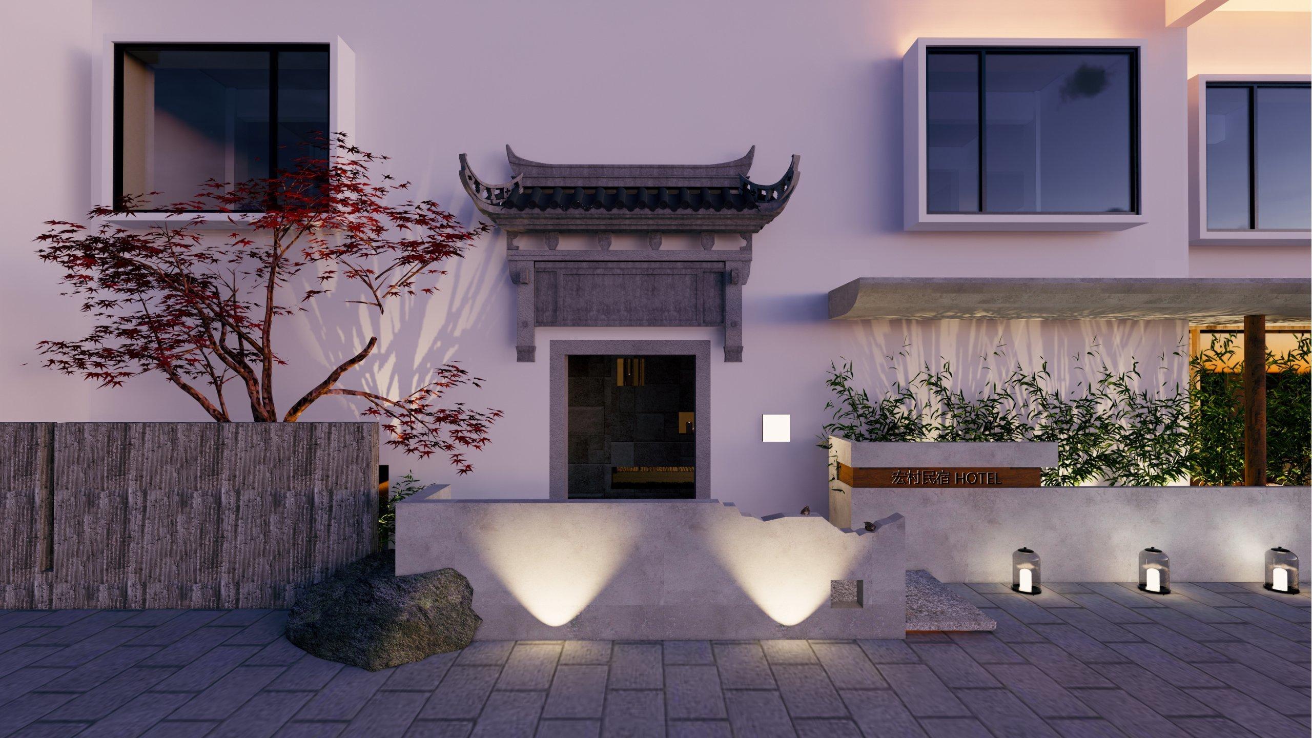 宏村民宿設計